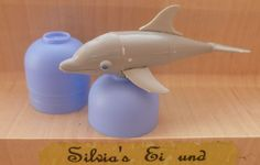 1988 Badewannenfisch -- Delphin mit ganzem Ei
