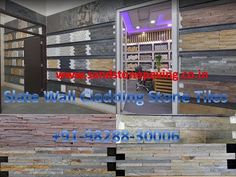 Slate Wall cladding Stone panels tiles manufacturer and supplier for Exterior Interior Wall