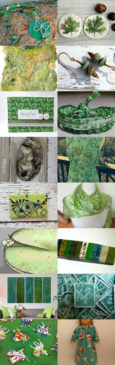 Green Palette by Judy on Etsy--Pinned with TreasuryPin.com