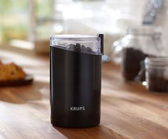 Start your coffee off right with the finest grounds with the KRUPS Electric Spice and Coffee Grinder.