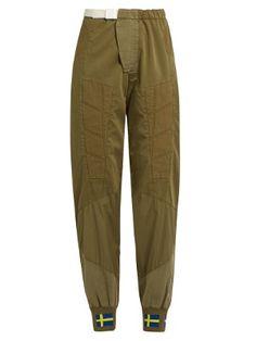 Ilse Co Sat panelled trousers  | Acne Studios | MATCHESFASHION.COM US
