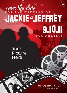 93 Best Movie Wedding Invites Images Dream Wedding Invitations