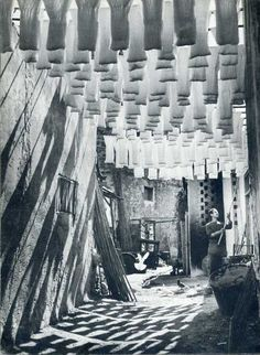 The Wool Suq in Tunis, 1958  GEORGE RODGER
