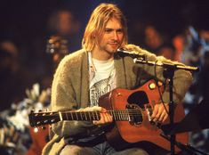 A talented yet troubled grunge performer, Kurt Cobain was the frontman for Nirvana and became a rock legend in the with albums 'Nevermind' and 'In Utero. Nirvana Kurt Cobain, Kirk Cobain, Banda Nirvana, Nirvana Band, Nirvana Songs, Kurt Cobain's Death, Rock And Roll, Jimi Hendricks, Music Rock