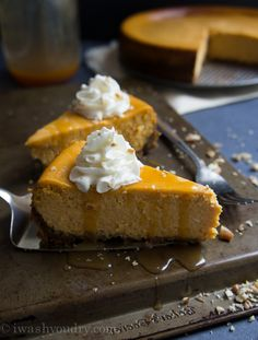 Pumpkin Cheesecake with a Gingersnap Pecan crust (sub gf ginger snaps ...