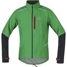 Gore Bike Wear Men's Fusion 2.0 Gore-Tex Active Shell Jacket, Fresh Green/Black, Medium - http://ridingjerseys.com/gore-bike-wear-mens-fusion-2-0-gore-tex-active-shell-jacket-fresh-greenblack-medium/