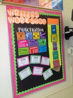 Neon Writing Bulletin Board