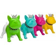 Tirelire King Dog XL Assorti Kare Design