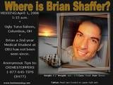 Unsolved Missing - Brian Shaffer - OSU - 2006 Missing Persons Please Repin One Or Two Of The Missing Person Pins To Your Boards To Help Find There Familys Sponsor http://multicityworldtravel.com