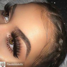 @flawlesssdolls - GOALS @krimd_ #makeup #eyemakeup #eyelook #eyeshadow #eyebrows #makeupgirls #makeupartist #makeupaddict #makeupforever