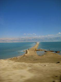 The Dead Sea & swim in it too!