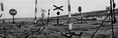 Josef Koudelka. CZECH REPUBLIC. Black Triangle region (Ore Mountains). 1993. The limit of a coal-mine.