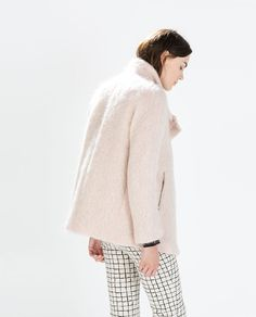 ZARA - WOMAN - COAT WITH FUNNEL COLLAR