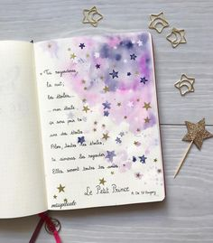 """590 gilla-markeringar, 44 kommentarer - ραυℓιиє (@misspiloute.bujo) på Instagram: """"Le Petit Prince (The Little Prince)! My favorite book, what's yours? ⭐️ #lepetitprince #quote…"""""""