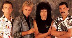 John Deacon, Roger Taylor, Brian May and Freddie Mercury.... QUEEN