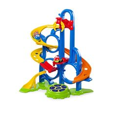 Amazon.com : Oball Go Grippers Bounce 'N Zoom Speedway : Baby Toddler Age, Toddler Toys, Super Bounce, Things That Bounce, Cool Things To Buy, Speedway Racing, Lifted Cars, Speed Racer, Activity Toys