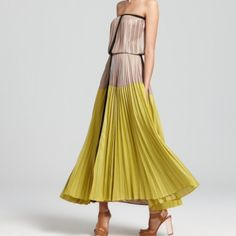 👀ISO👀 BCBG MaxAzria LILYAN Colorblock maxi dress Please share/tag xo BCBGMaxAzria Dresses Maxi