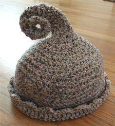 Curly Q Crochet Hat Pattern von Whimsaboo auf Etsy, $5.50