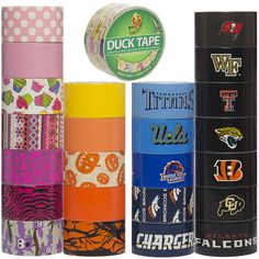 25 Rolls Duck Brand Duct Tape – Random Crafty or Sporty Prints