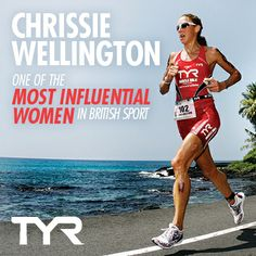 Ridiculously proud of #TeamTYR legend Chrissie Wellington for being named one of the 50 MOST INFLUENTIAL WOMEN in British sport!!!