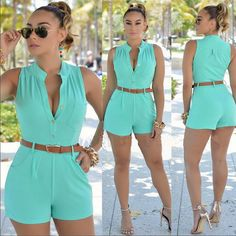 Hot Summer Rompers - Sleeveless - 6 Colours (S - 2XL)