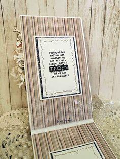 RANDI'S LILLE BLOGG: Konfirmasjonskort til jente Magnolia, Shabby Chic, Frame, Blog, Cards, Design, Home Decor, Picture Frame, Decoration Home