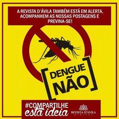#Compartilheestaideia . Acompanhe nossas postagens sobre o assunto e previna-se de todas as formas contra o mosquito que agora transmite até 3 tipos de doença. . Lembrem-se de sempre acompanhar a Revista http://ift.tt/1UOAUiP