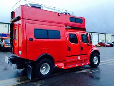 Most impressive and cool RV Phoenix Pop Up Freightliner