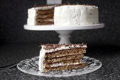 chocolate hazelnut macaroon torte by smitten (gluten-free)