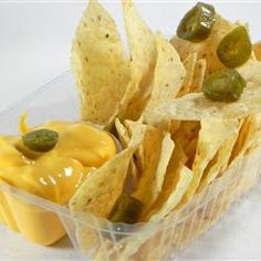 Nacho Cheese Sauce Recipe.  I make this a couple times a week.  Mix into cooked macaroni for an easy homemade mac-n-cheese.