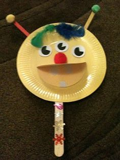 paper plate monsters - Google Search
