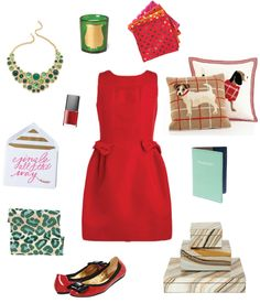 Love the red dress! vai lox papers - scroll