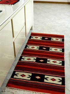 Runner kilim rug Yoga mat Albanian kilim runner Vintage