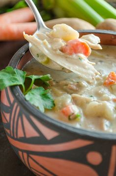 "Forget turkey tetrazzini, Creamy Leftover Turkey Stew will become your  new ""go to"" recipe for leftover Thanksgiving turkey meat. My family loved this soup so much they ate the entire p…"