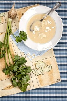 Provereni recepti. Cooks and Bakes: Čorba od celera sa knedlama