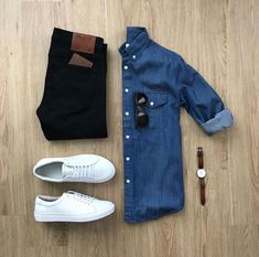 visit our website for the latest men's fashion trends products and tips . Stylish Mens Outfits, Cool Outfits, Casual Outfits, Men Casual, Fashion Outfits, Fashion Flatlay, Fashion Ideas, Men's Fashion, Fashion Trends