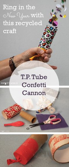 The first recycled craft of 2016! Let me show you how to turn this little T.P…