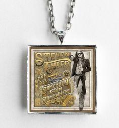 Steven Tyler - We're All Somebody from Somewhere - Album Cover Art Pendant Necklace