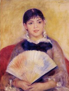Renoir - Girl With A fan