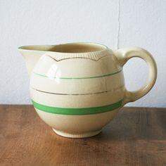 1930's Clarice Cliff , Art deco milk jug.