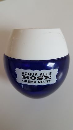 Acqua alle Rose crema notte Wine Glass, Cosmetics, Tableware, Cream, Dinnerware, Beauty Products, Dishes, Drugstore Makeup