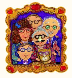Family Portrait in Glasses (Johansen Newman) Designer Ipad Cases, Old Art, Awesome Art, Carousel, Family Portraits, Sculptures, Old Things, Princess Zelda, Glamour