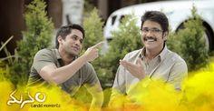 """""""Oka Laila Kosam"""" hero #NagaChaitanya with his Father #Nagarjuna !"""