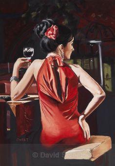 Vaudeville V - Paintings David, Paintings, Sweet, Art, Candy, Art Background, Painting Art, Painting, Kunst