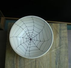 Spider web bowl from etsy - catherinereece