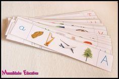 Lenguaje Montessori – Serie Blanca – Caja de sonidos