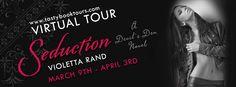 Romancebookworm's Reviews: BLOG TOUR REVIEW!  SEDUCTION BY VIOLETTA RAND (@Ta...