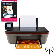 HP Deskjet 3051A Wireless e-All-in-One Printer with Bonus Paper - Value Bundle
