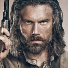 Anson Mount...Talk about great casting.  He is perfect for the role of Cullen in Hell On Wheels.