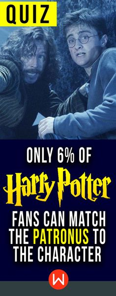 """Quiz: Can you match the Patronus to the Harry Potter character? Harry Potter Patronus trivia test. #patronuscharm wizarding world quiz, buzzfeed quizzes. """"Out of the end of his wand burst...a blinding, dazzling, silver animal"""""""